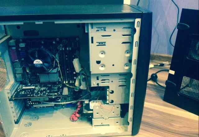 Рабочий компьютер, но без блока питания+ Psp
