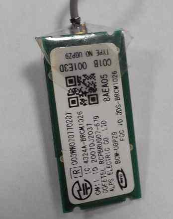 Sony Vaio Bluetooth Module BCM-ugpz9, BCM1026