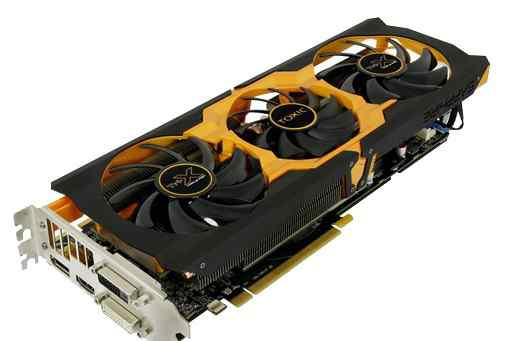 Видеокарта AMD R9 270X gddr5 Sapphire toxic Boost