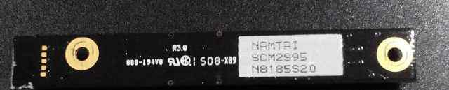 Sony Vaio VGN namtai SCM2S95 Motion Eye Webcam