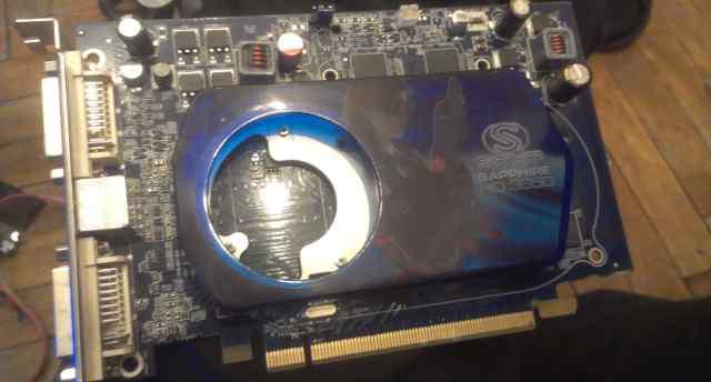 Видеокарта Sapphire Radeon HD 3650 512mb