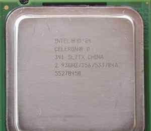 Процессор Intel Celeron D 341