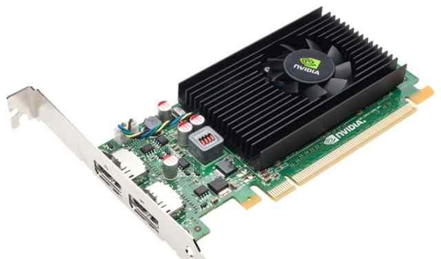 Nvidia NVS-310 низкопрофильная на 2 монитора