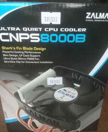 Новый кулер Zalman CNP8000B PWM