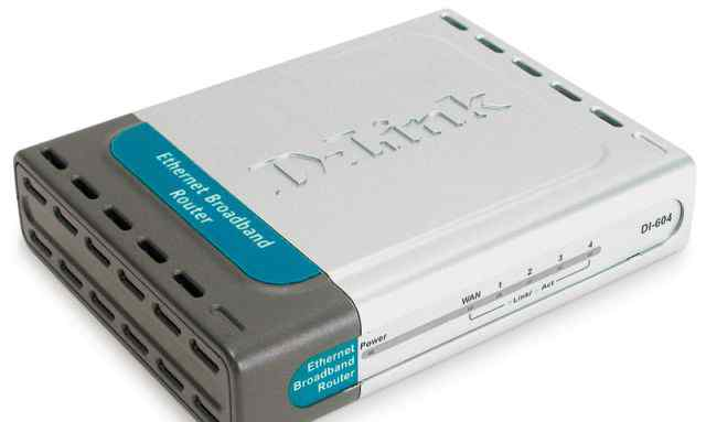 Ethernet-маршрутизатор D-link DI-604