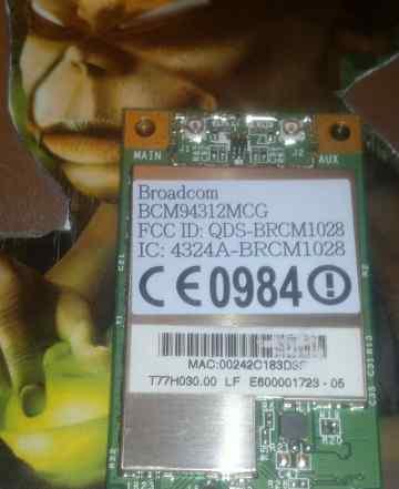 Wi-Fi Broadcom wlan BCM94312MCG