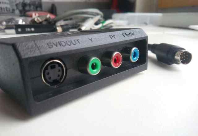 Переходник S-video / RGB