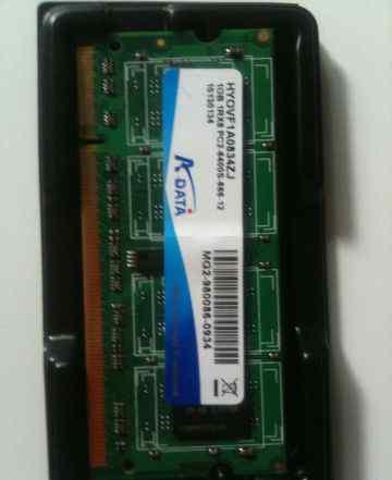 So-Dimm DDR2 1Gb PC2-6400 800Mhz