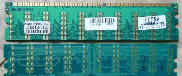 Память 4 планки PC 3200 ддр 400+ 333 184 пин