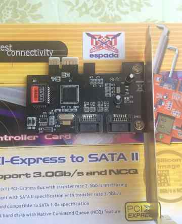 Контроллер PCi-Express to SATA II