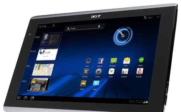 Acer Iconia Tab A500 16Gb (+ кож. чехол, зарядка)