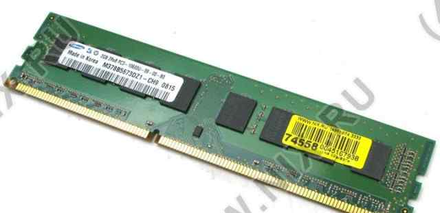 Original samsung DDR-III dimm 2Gb (PC3-10600 )