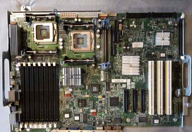 Материнская плата для сервера HP ML350 G5