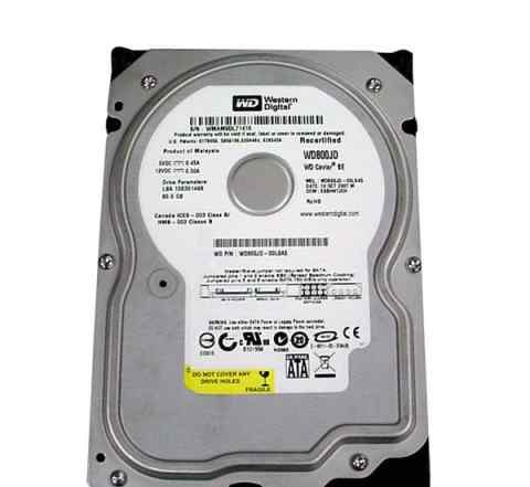80 gb SATA WD800JD