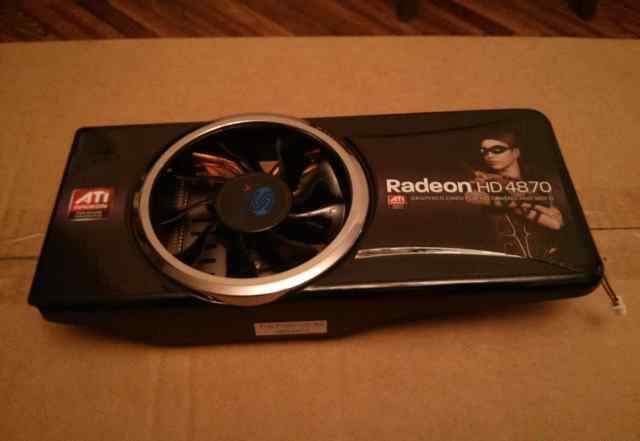 Радиатор от видеокарты Radeon HD4870
