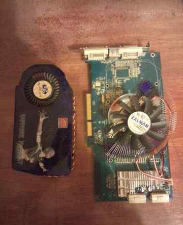 Sapphire Radeon X1950 GT 500Mhz AGP 256Mb