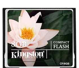 Карта памяти 8Гб Kingston CF(Compact Flash)