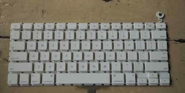 Клавиатура Macbook White