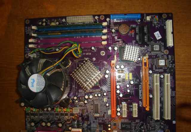 Материнская плата+ процессор+ память