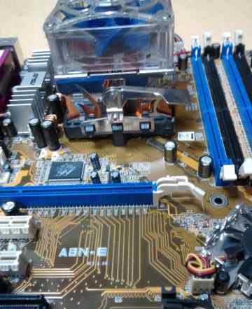 Материнская плата asus A8N-E Athlon64 3000+