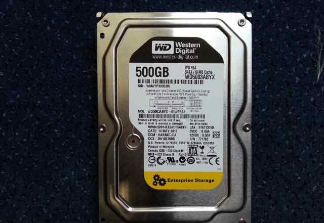 HDD Western Digital WD5003fbyx SATA 3Gbit/s, 500Gb