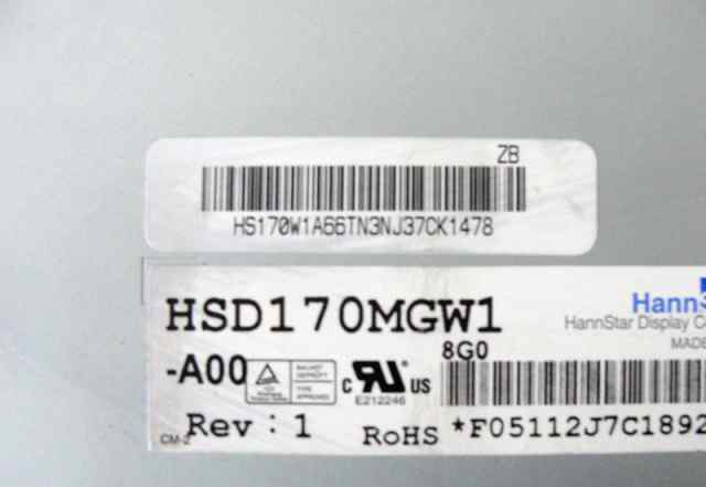 Матрица HannStar HSD170MGW1