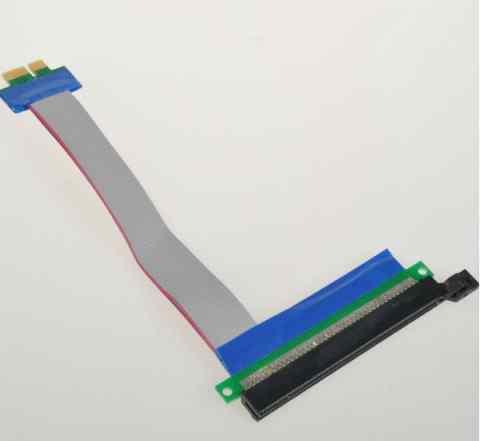 Переходник PCI-E 1X на 16X Riser