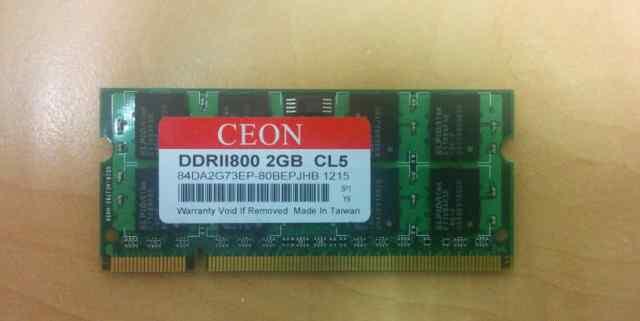 SO-dimm DDR2 800 Mhz 2Gb Ceon