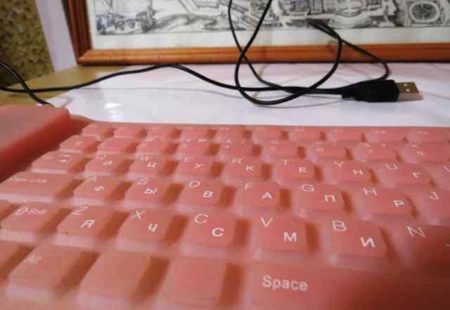 Силиконовая мягкая клавиатура