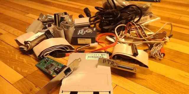 Разные старые комплектующие для компьютера