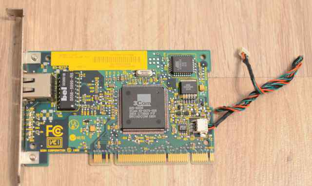 Сетевая карта PCI 3com 10/100 Mbps