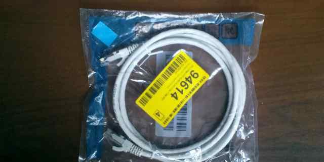 Патч-корд UTP 1.5м Hyperline белый