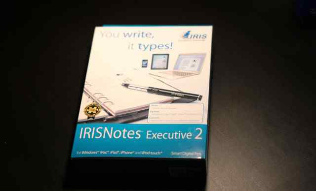 Цифровая ручка irisnotes Executive 2