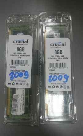 Crucial DDR3 8Gb PC3-12800 ECC Reg LV - 2шт