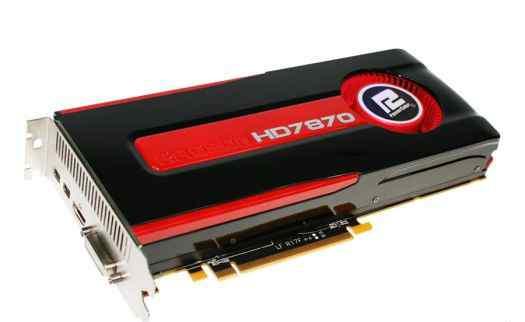видеокарту AMD Radeon HD7870