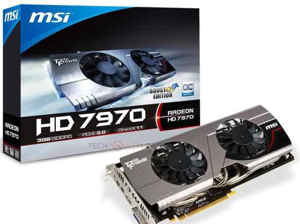 Radeon HD7970 MSI V227 + водоблок сво водяное