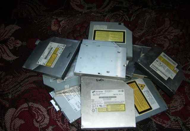 DVD приводы для ноутбуков IDE, SATA