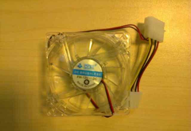 Вентилятор 80 мм очень тихий для корпуса