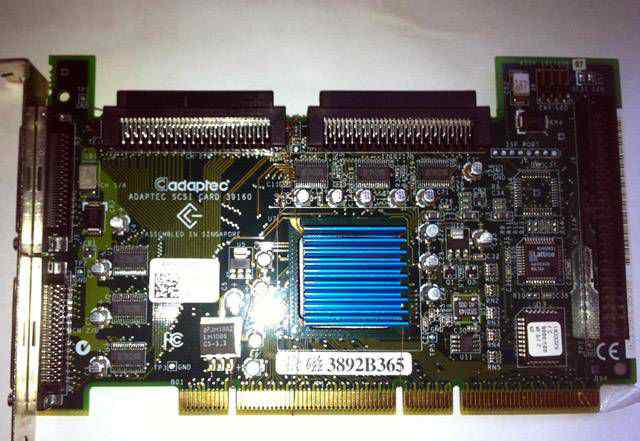 Adaptec ASC-39160 scsi контроллер