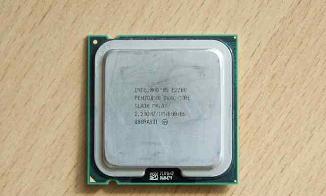 Процессор Intel Pentium E2200 Dual Core