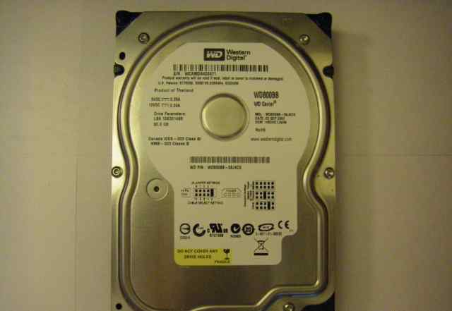 Жесткий диск Western Digital WD800BB 80Gb