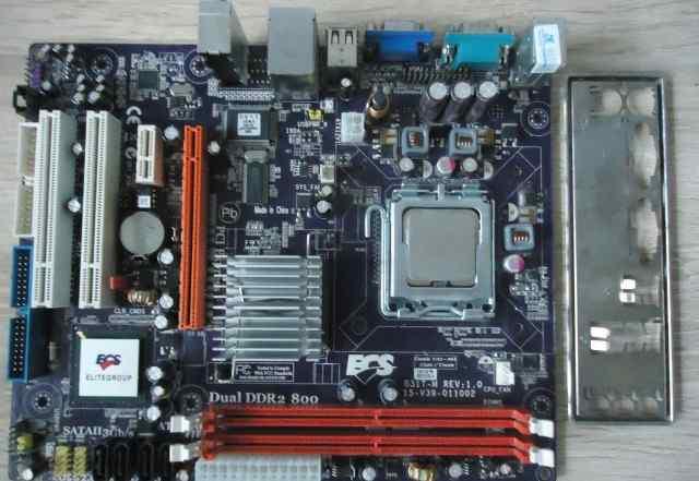 Процессор Intel core2 DUO E8400