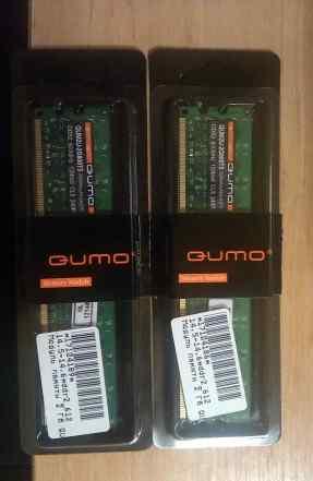 Qumo DDR2 2Gb qum2u-2g800t5 (4 штуки)