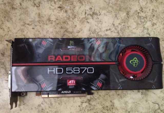 XFX Radeon HD 5870 875Mhz 1GB