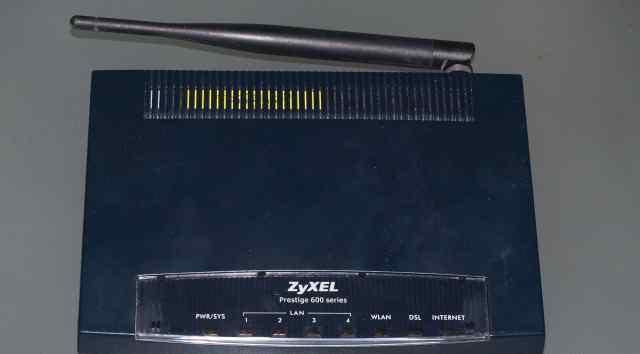 Роутер zyxel P-660HTW EE