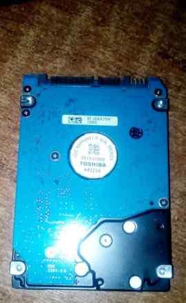 Жесткий диск Toshiba для ноутбука