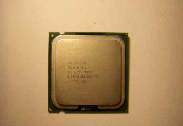 Intel Celeron D 336 / LGA775 / 2.8 GHz