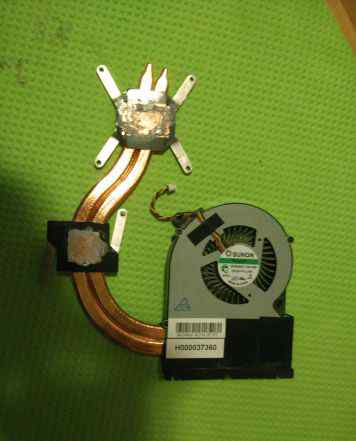Система охлаждения ноутбука Toshiba L870-C9W