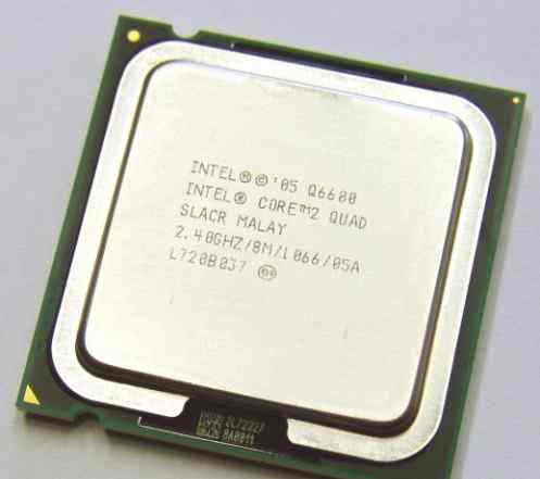 Intel Core2 Quad Processor Q6600 (775)