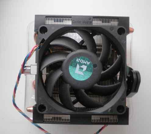Система охлаждения радиатор + кулер для AMD